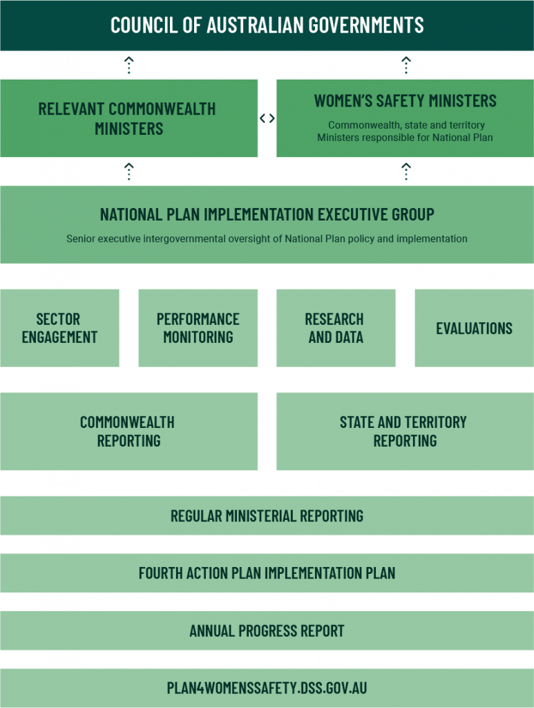 National Plan governance structure
